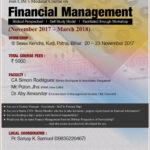 Modular Course on Financial Management @ Patna