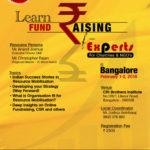 Fund Raising Seminar @ Bangalore
