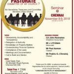 Seminar @ Chennai